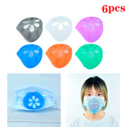 Silicone Mask Holder 3D Mouth Mask Support