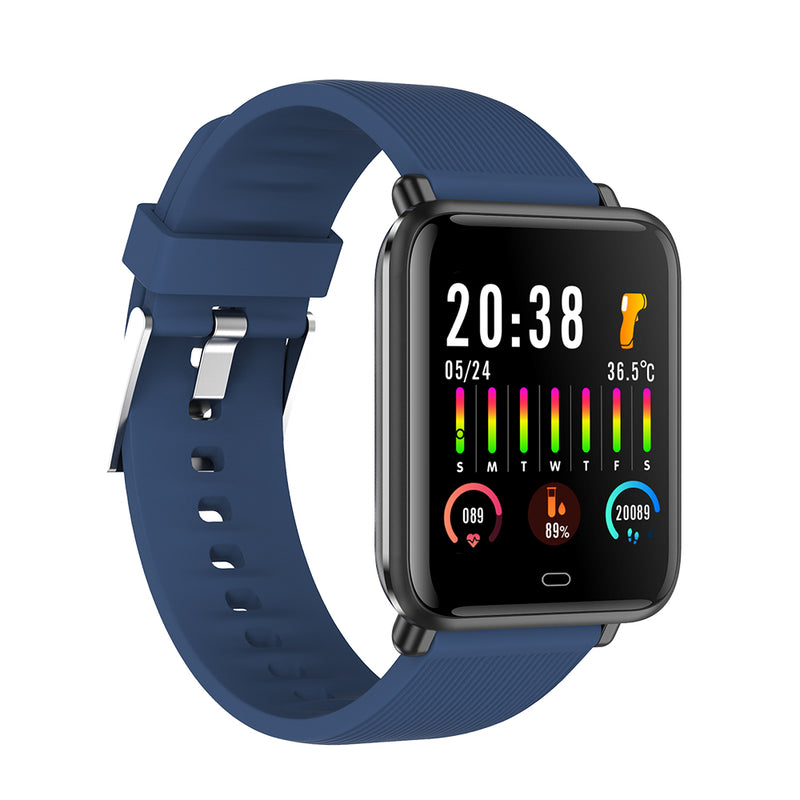 Smart Watch for Measuring Body Temperature and Oximeter