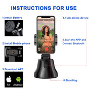 360° object tracking holder Smartphone Gimbal