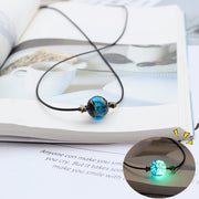 Starry Night Glow Transport Bead Necklace
