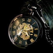 Steampunk Retro Luminous Mechanical Pocket Watch
