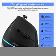 USB Wired Vertical Gaming Mouse-aolanscctv