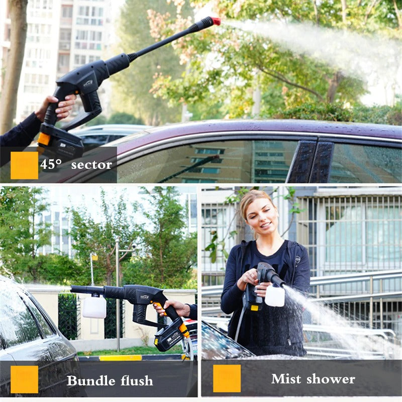 Wireless High-pressure Car Wash Water Gun