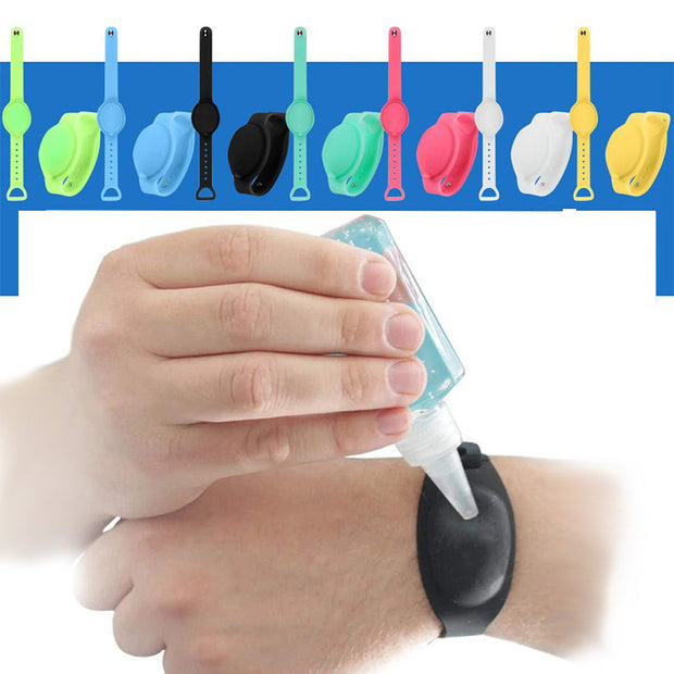 Wristband Hand Dispenser-aolanscctv