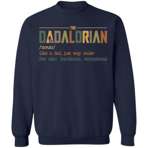 The Dadalorian like a Dad just way cooler shirt - TheTrendyTee
