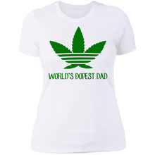 Load image into Gallery viewer, World's Dopest Dad T-shirt - TheTrendyTee
