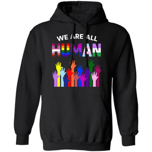 We Are All Human LGBT Gay Rights Pride Ally Shirt - TheTrendyTee