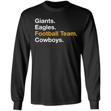 Load image into Gallery viewer, Washington Foot Ball Team Name Change shirt