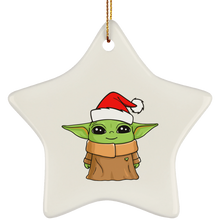 Load image into Gallery viewer, Cute Baby Yoda Christmas tree Ornament - TheTrendyTee
