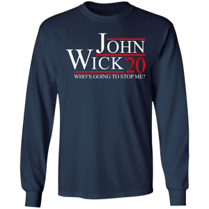 John Wick 2020 Who's going to stop me shirt - TheTrendyTee