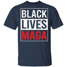 Load image into Gallery viewer, Black Lives Maga shirt - TheTrendyTee