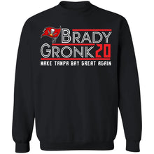 Load image into Gallery viewer, Brady Gronk 2020 make Tampa Bay great again shirt - TheTrendyTee