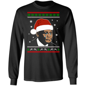 Crying Jordan Funny Ugly Christmas Sweatshirt T-shirt - TheTrendyTee