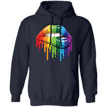 Load image into Gallery viewer, LGBT Rainbow Lips Pride shirt - TheTrendyTee