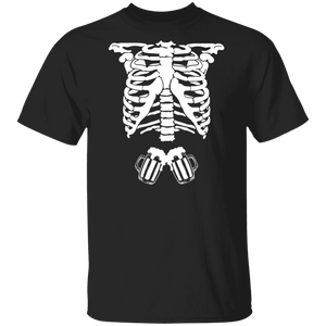 Skeleton Beer Halloween T-Shirt - TheTrendyTee