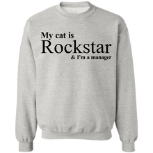 Load image into Gallery viewer, My Cat is Rockstar and I am a manager Shirt - TheTrendyTee