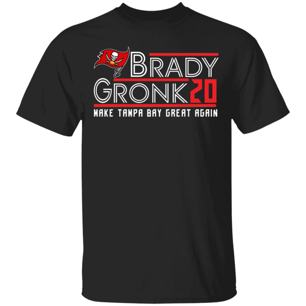 Brady Gronk 2020 make Tampa Bay great again shirt - TheTrendyTee