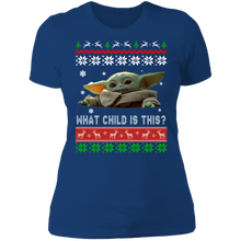 Load image into Gallery viewer, Baby Yoda Christmas ugly sweater - TheTrendyTee