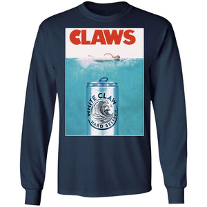 White claws Jaws Movie shirt - TheTrendyTee