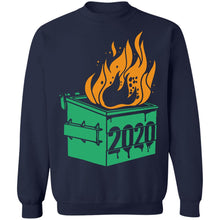 Load image into Gallery viewer, Dumpster Fire 2020 Trash Can Garbage Fire Worst Year Shirt - TheTrendyTee