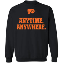 Load image into Gallery viewer, Philadelphia Flyers Anytime Anywhere shirt - TheTrendyTee