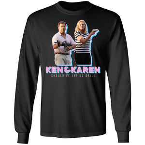 Ken & Karen's Should've let us grill shirt - TheTrendyTee