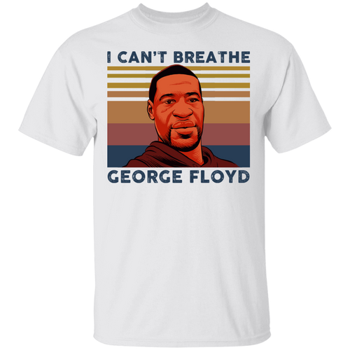 George Floyd I can't breathe shirt - TheTrendyTee
