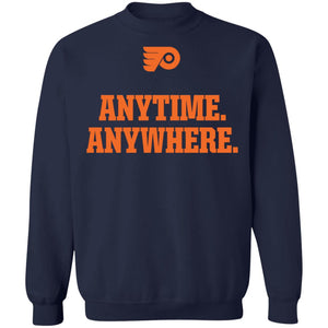 Philadelphia Flyers Anytime Anywhere shirt - TheTrendyTee