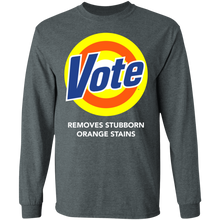 Load image into Gallery viewer, Vote removes stubborn orange stains shirt - TheTrendyTee