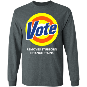 Vote removes stubborn orange stains shirt - TheTrendyTee