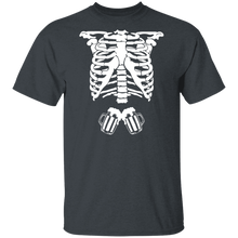 Load image into Gallery viewer, Skeleton Beer Halloween T-Shirt - TheTrendyTee