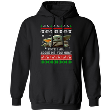 Load image into Gallery viewer, Baby Yoda Christmas ugly sweater cute - TheTrendyTee