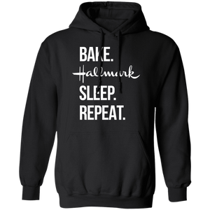 Bake Hallmark Sleep Repeat Christmas Shirt - TheTrendyTee