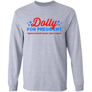 Dolly Parton For President shirt - TheTrendyTee