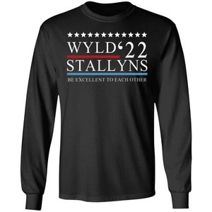 Wyld Stallyns 2022 Be Excellent To Each Other shirt