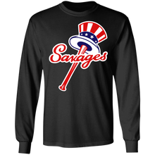 Load image into Gallery viewer, Tommy Kahnle Yankees Savages T-shirt - TheTrendyTee