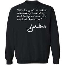 Load image into Gallery viewer, John Lewis Good Trouble Necessary Trouble shirt - TheTrendyTee
