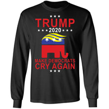 Load image into Gallery viewer, Trump 2020 Make Democrats Cry Again shirt
