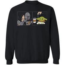 Load image into Gallery viewer, Woman Yelling At Baby Yoda Meme shirt