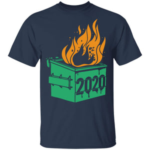 Dumpster Fire 2020 Trash Can Garbage Fire Worst Year Shirt - TheTrendyTee