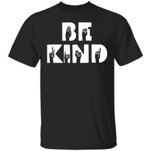 Load image into Gallery viewer, Be Kind hand sign language shirt BLM - TheTrendyTee