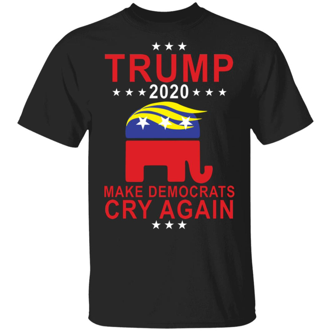 Trump 2020 Make Democrats Cry Again shirt
