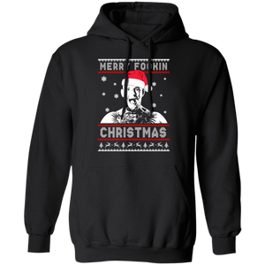 Conor McGregor Merry Fookin Christmas Ugly Sweater - TheTrendyTee