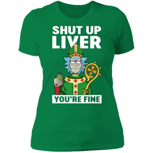 Load image into Gallery viewer, St. Patrick Shut Up Liver You Are Fine Funny T-shirt - TheTrendyTee
