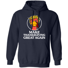 Load image into Gallery viewer, Trump Turkey Make Thanksgiving great again shirt - TheTrendyTee