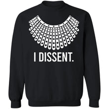 Load image into Gallery viewer, I Dissent Ruth Bader Ginsburg shirt