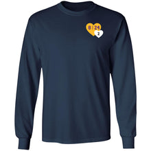 Load image into Gallery viewer, Lebron Tribute Kobe Heart Pocket shirt - TheTrendyTee