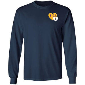 Lebron Tribute Kobe Heart Pocket shirt - TheTrendyTee