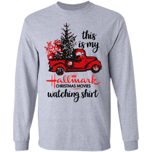 Load image into Gallery viewer, This Is My Hallmark Christmas Movies Watching T-Shirt Red Car - TheTrendyTee