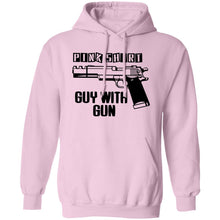 Load image into Gallery viewer, Pink Shirt Gun Guy Shirt - TheTrendyTee